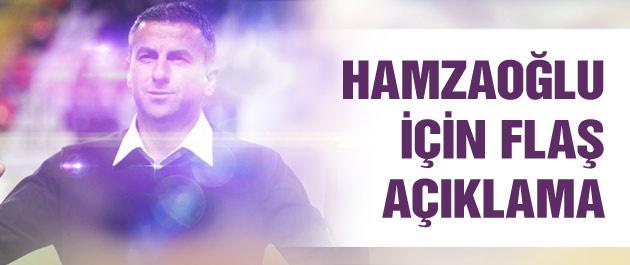 Hamzaoğlu için flaş açıklama! Teklif...