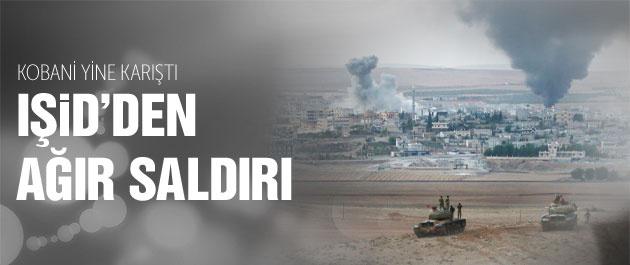 Kobani son durum IŞİD yine saldırdı!