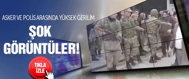 Ankara'da polisle asker arasında yüksek gerilim