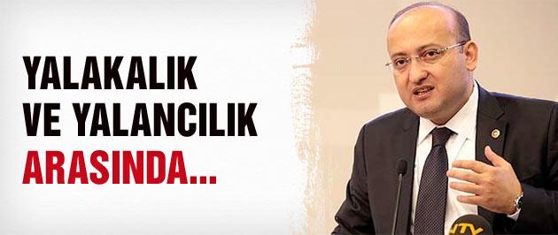 Yalçın Akdoğan o iddiaya ateş püskürdü