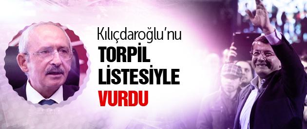 Davutoğlu'ndan CHP'yi o listeyle vurdu