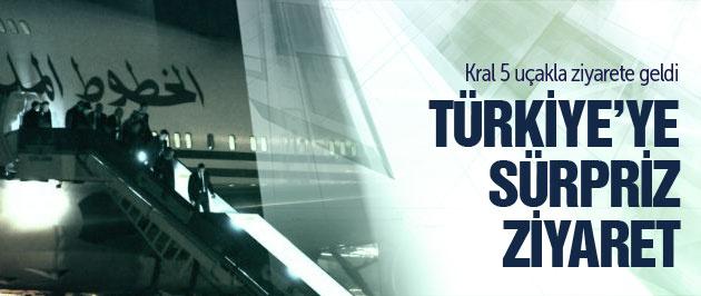Fas Kralı 6. Muhammed Türkiye'de