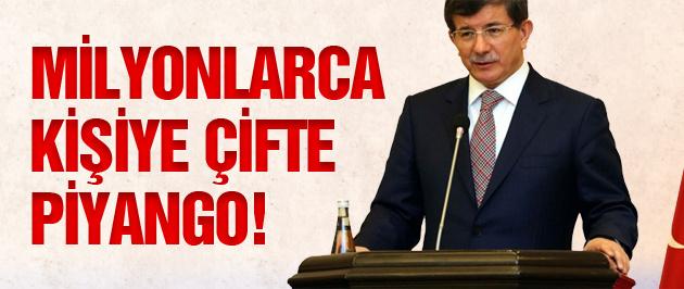 Başbakan Davutoğlu'ndan 2015 müjdesi!