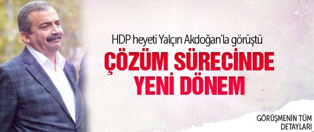 HDP heyetinden flaş çözüm süreci açıklaması