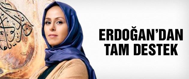 Erdoğan'dan Niran Ünsal'a tam destek!
