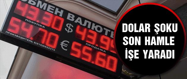 Rusya son dakika dolara büyük şok