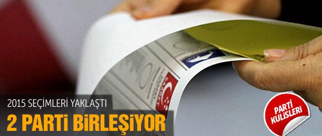 '2015 seçimlerinde 2 parti birleşiyor' iddiası