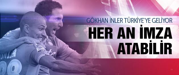 Gökhan İnler Beşiktaş'a geliyor