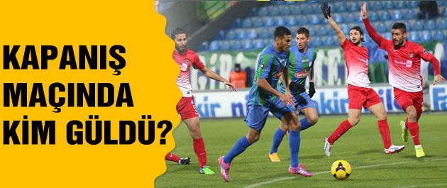 Kapanış maçında Gaziantepspor güldü!