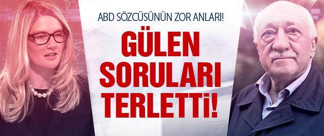 Fethullah Gülen soruları ABD sözcüsünü terletti!