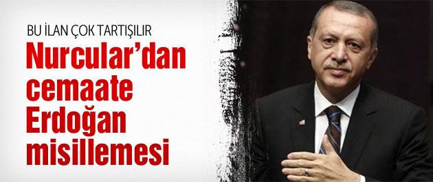 Nurcular'dan cemaate Erdoğan misillemesi