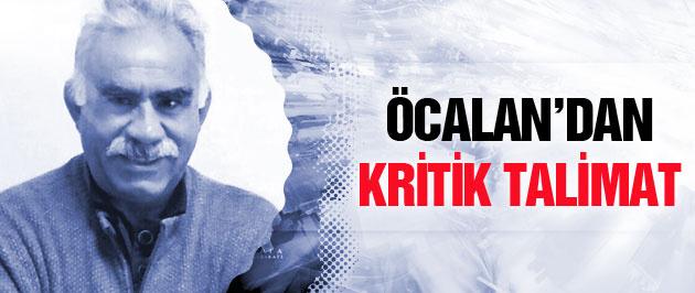 Öcalan'dan çözüm sürecinde kritik talimat