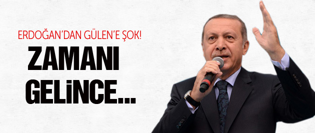 Erdoğan'dan Fethullah Gülen sorusuna yanıt