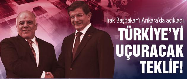 Irak'tan Türkiye'yi uçuracak teklif!