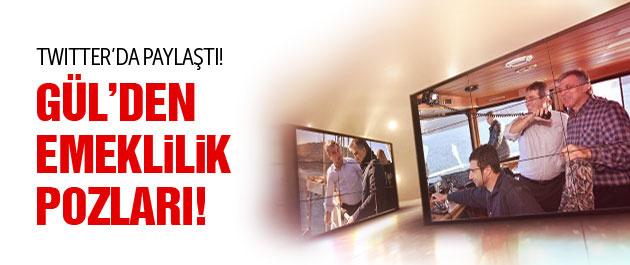 Abdullah Gül'den emeklilik fotoğrafları!
