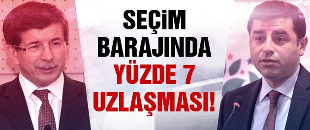 'AK Parti ve HDP seçim barajında anlaştı!'