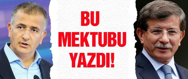 Ekrem Dumanlı Ahmet Davutoğlu'na bu mektubu yazdı
