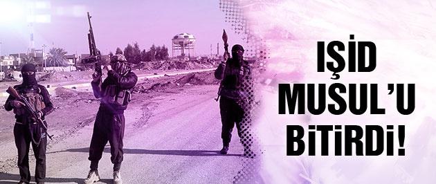IŞİD son dakika Musul'da su bile yok!