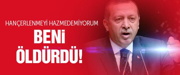 Erdoğan Fethullah Gülen'i topa tuttu!