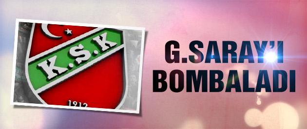 Pınar Karşıyaka G.Saray'ı bombaladı!