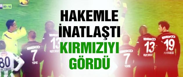 Konya'da Beşiktaş'ı yıkan kart!