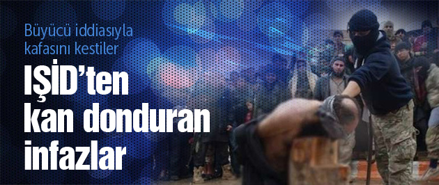 IŞİD'ten kan donduran infaz!