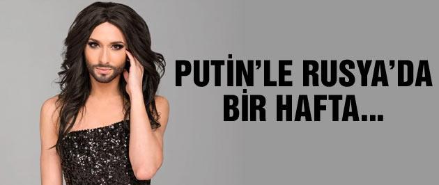 Eurovision birincisi Conchita Wurst'tan Putin açıklaması