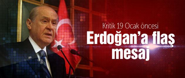 Bahçeli'den Erdoğan'a flaş Bakanlar Kurulu mesajı