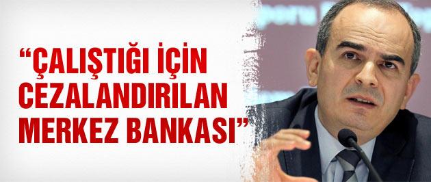 Çalıştığı için cezalandırılan Merkez Bankası!