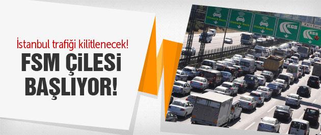 İstanbul trafiği kilitlenecek Valilik uyardı!