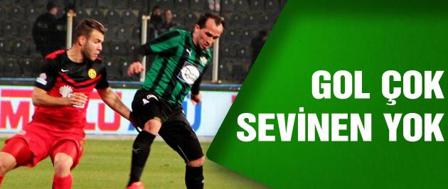 Akhisar Belediyespor - Eskişehirspor: 2-2