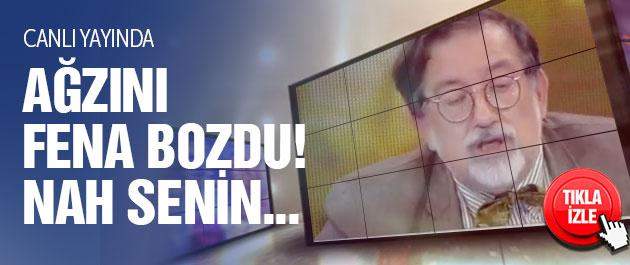 Murat Bardakçı canlı yayında ağzını bozdu! Nah senin...