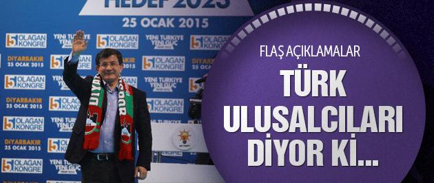 Davutoğlu'ndan Diyarbakır'da flaş açıklamalar!