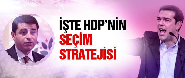 Syriza'nın başarısı HDP'yi ümitlendirdi