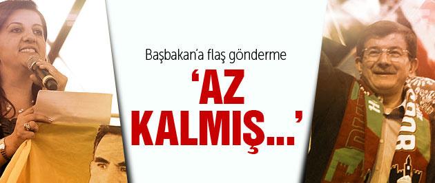 HDP'li Buldan: Davutoğlu Öcalan'ın selamını da iletecek