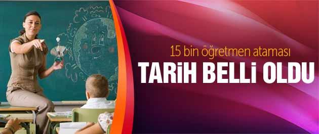 Öğretmen atamaları 6 Şubat'ta MEB kontenjan açıklama