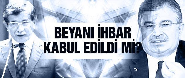 İdris Naim Şahin'in beyanı ihbar kabul edildi mi?