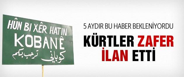 Kobani son durum tamamı Kürtlerin elinde