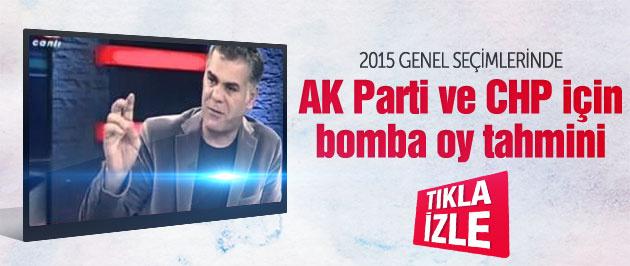 AK Parti için bomba oy tahmini!