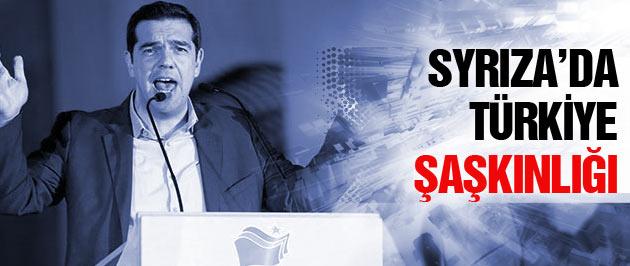 Syriza lideri Çipras'ın Türkiye şaşkınlığı