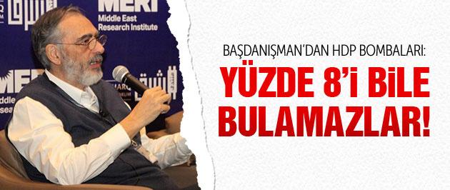 Mahçupyan'dan HDP bombaları: Yüzde 8 bile zor!