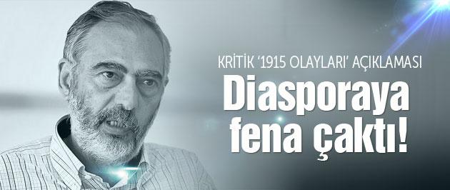 Etyen Mahçupyan'dan kritik Ermeni diasporası açıklaması