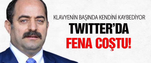 Zekeriya Öz Twitter'da fena coştu!