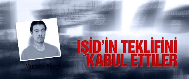 IŞİD'in teklifini kabul ettiler