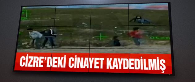 Cizre'deki cinayetin şok görüntüleri!