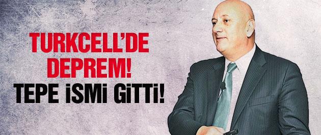 Turkcell'de deprem! Tepe ismi gitti!