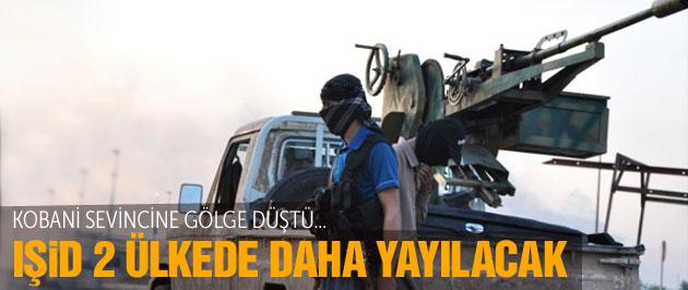 IŞİD son durum Kobani bitti 2 ülkede yayılacak!
