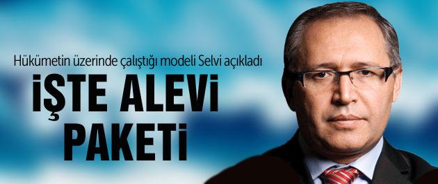 Abdülkadir Selvi 'Alevi Paketi'nin içeriğini açıkladı