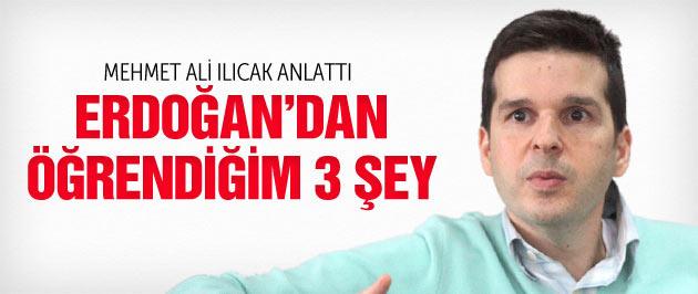 Erdoğan Mehmet Ali Ilıcak'ı namaza başlatmış