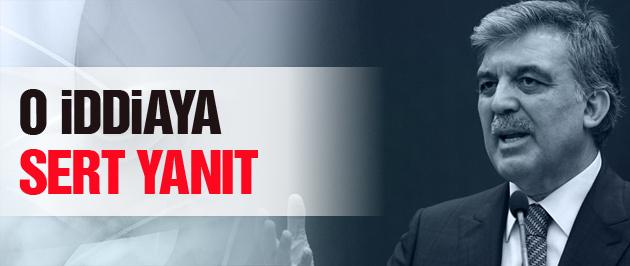 Abdullah Gül'den son dakika açıklama